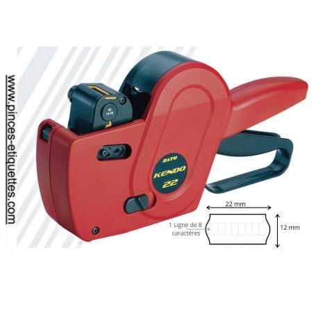 Etiqueteuse KENDO 22 SATO Compatible METO-TOVEL Format 22X12mm