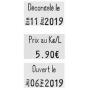 Etiqueteuse JUDO FOOD 26x16 mm SATO