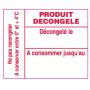copy of Étiquettes Blanches Préimprimées 1153 Format 25x31MM