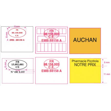 copy of Étiquettes Blanche 1131