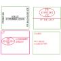 Étiquettes Personnalisées 26X16mm 2 lignes 20 Caractères