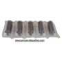PACK 22X12 : 50 RLX ETIQUETTES BLANCHES + 1 Etiqueteuse 22x12 mm