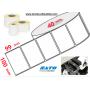 Etiquettes 100x99 mm velin permanent