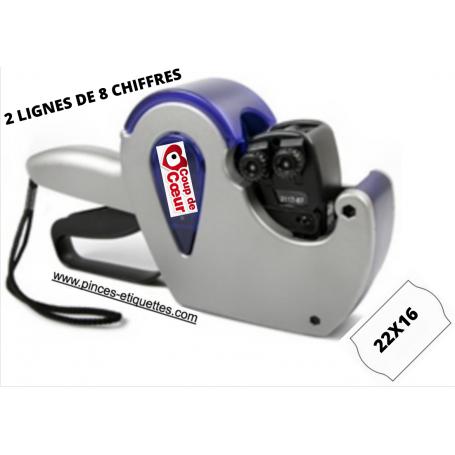 COUP DE COEUR : ETIQUETEUSE 22X16 MM 2 LIGNES