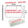 """PACK : POIDS NET EN GRAMMES - LOT - D L U O : 36 RLX """"- A CONSOMMER DE PRÉFÉRENCE AVANT """"+ 1 Etiqueteuse 26x16mm"""