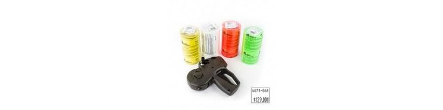 Étiquettes pour étiqueteuse 1136 1131 Avery Denisson Paxar monarch  format 20x11 20X16 mm Tampon Encreur Inclus dans les boites