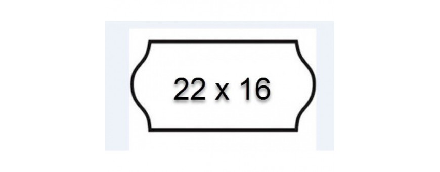 22x16 MM