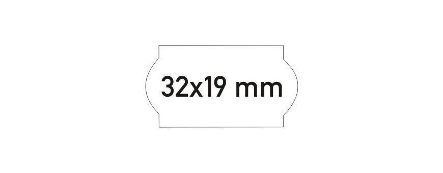 Étiquettes 32x19 MM