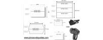 Etiquettes POUR ESTAMPILLE  PERSONNALISABLE pour étiqueteuses, pinces à étiqueter PERSONNALISÉ IMPRIMER VOTRE TEXTE sur 1 ligne 2 lignes et 3 lignes