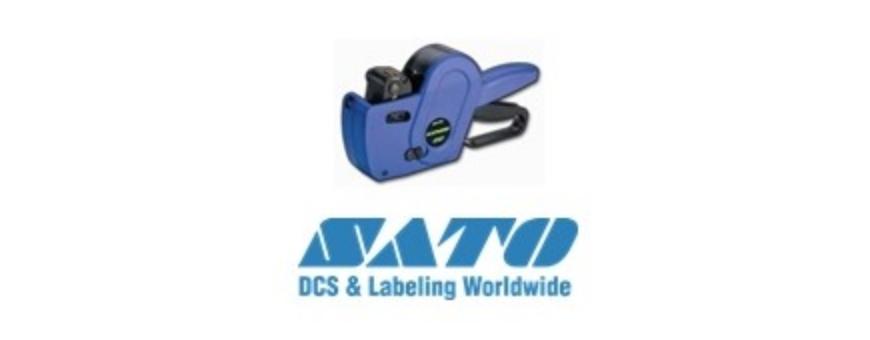 Pinces étiquettes Marque SATO Etiqueteuses : SAMARK  JUDO  KENDO  DUO 20  DUO 16 PB 1 PB 2  PB 3  Pour PB 1 format 18X10mm Duo 16  étiquettes 18X16 Duo 20 étiquettes 23x16