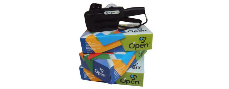 Etiqueteuse meilleurs prix, Pince à étiquettes pas cher Etiqueteuse pour étiquettes METO Compatible étiquettes Tovel  Printex 32x19