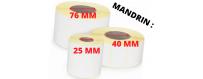 MANDRIN : 25 MM
