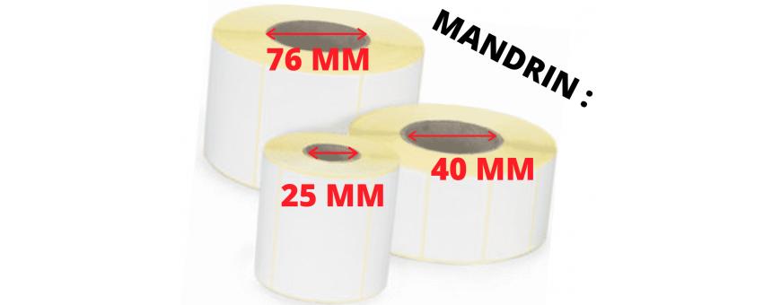 MANDRIN : 40 MM