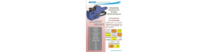 Etiquettes pour Promotion etiquettes Soldes Etiqueteuse Promo Etiquettes pour DATE Courte