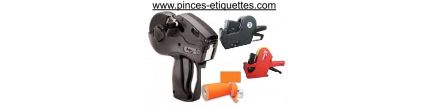 Etiqueteuses pas cher Meilleurs Prix Premier Pistolet d'étiquetage Pince étiqueter Date Pistolet étiquette Dateur SATO Etiqueteuses  AVERY DENISSON Etiqueteuse METO